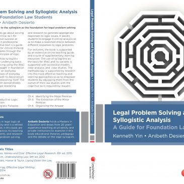Bookshelf: Legal Problem-Solving and Syllogistic Analysis: A Guide for Foundational Law Students